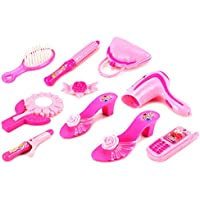 Modern Beautiful 59 Pretend Play Toy Fashion Beauty Play Set W/ Assorted Beauty Accessories