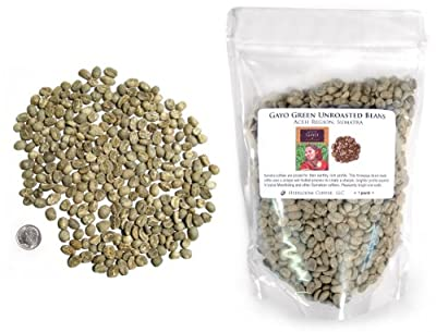 Sumatra Gayo Green Unroasted Coffee Beans from Sriwijaya Coffee
