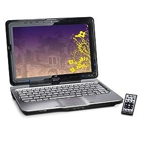 HP Pavilion TX2510US 12.1-inch Laptop (2.10 GHz AMD Turion X2 ZM-80 Processor, 3 GB RAM, 250 GB Hard Drive, DVD Drive, Vista Premium) Black