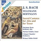 Bach, J.S. / Hoffmann / Telemann: Alto and Tenor Cantatas, Bwv 35, 55, 160, 189