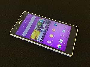 "Sony Xperia Z White C6603 (Factory Unlocked) International Version No Warranty LTE 5"" Full Hd ,13 Mp, Dust & Water Resistant"