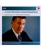 Beethoven : Symphonies n° 1 à 9 - Ouvertures - Concerto pour violon(Coffret 6 CD)