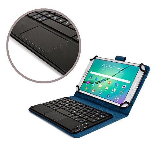 Click to buy Cooper Cases(TM) Touchpad Executive Archos 70/70b Titanium, 70/80b Xenon Tablet Bluetooth Keyboard Folio in Blue (Removable QWERTY Keyboard; Built-in Stand; Rechargeable Battery) - From only $34.95