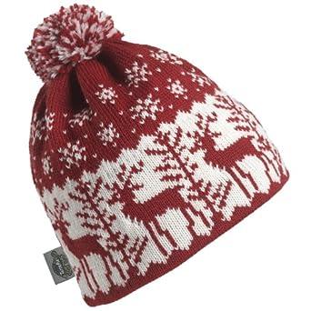 Buy Turtle Fur - Ladies Dear Deer, Classic Wool Knit Ski Pom Hat by Turtle Fur