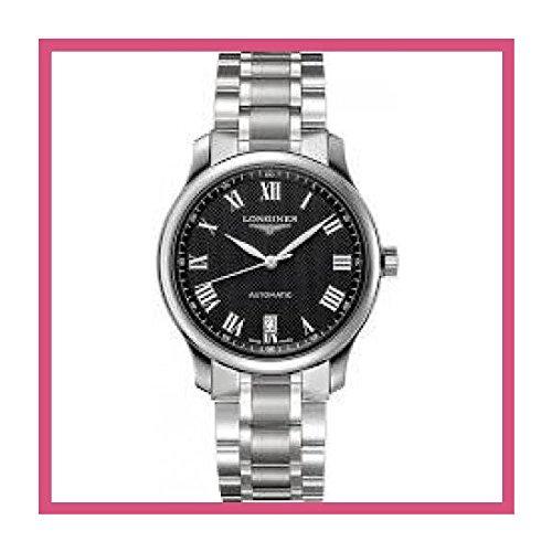 海外 人気 Longines Master Collection Black Dial Stainless Steel Automatic Men's Watch メンズ 日本未入荷 腕時計 限定品 モデル セレブ愛用[並行輸入品]