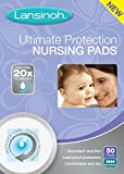 Lansinoh Ultimate Protection Nursing Pads For Nursing Mothers, For Maximum Flow, Leak Proof Protection Day or Nighttime, Maximum Comfort and Discretion, 50 Count