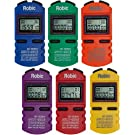 Robic SC-505W Twelve Memory Stopwatch 6-Pack Assortment