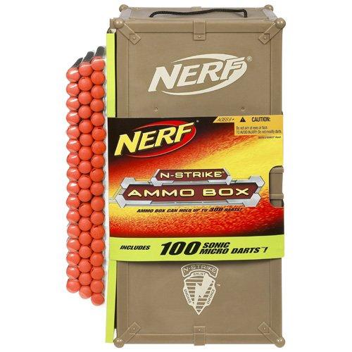 Nerf N-Strike Ammo Box inclusive 100 Sonic Micro Darts 89860