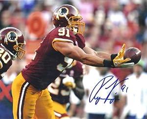 Ryan Kerrigan Autographed Washington Redskins 8x10 Photo by DenverAutographs