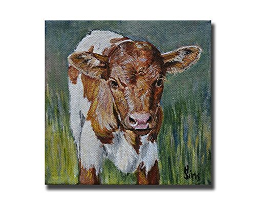 Texas Longhorn giclee farmhouse decor
