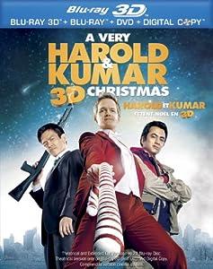 A Very Harold & Kumar Christmas [Blu-ray 3D + Blu-ray + DVD] (Bilingual)