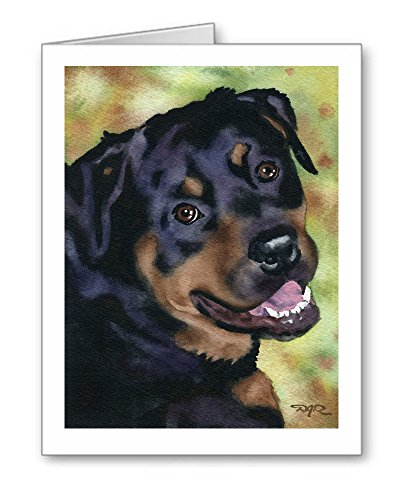 RottweilerNote Cards With Envelopes Set of 10
