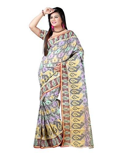 Sai Krupa Silk Women's Silk Brocade Sarees(Yellow