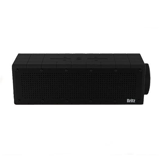 Britz bz-d100Surf Eau la poussière antichoc haut-parleur portable Bluetooth 4.0IPX 63D/basse/Smartphone Galaxy g6g7A6A7S6S7Note Vega noir