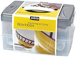 Pebeo porcelaine 150 china paint atelier for Pebeo vitrail glass paint instructions