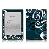 Kindle 4 skin - Midnight Garden - High quality precision engineered removable adhesive skin for the Amazon Kindle (4th generation Wi-Fi 6