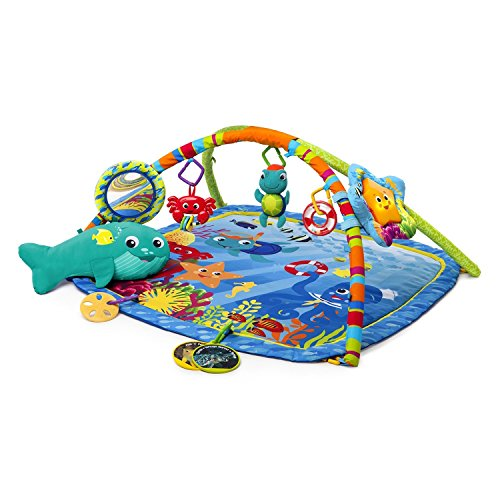 Baby Einstein Nautical Friends Play Gym - A Sea of Fun Features - Rewards Baby with Melodies and Lights - Great for Tummy Time - Best Buys for your Fun Baby