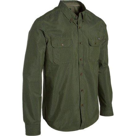 Quiksilver Ho Shirt - Long-Sleeve - Men's Dark Green, L