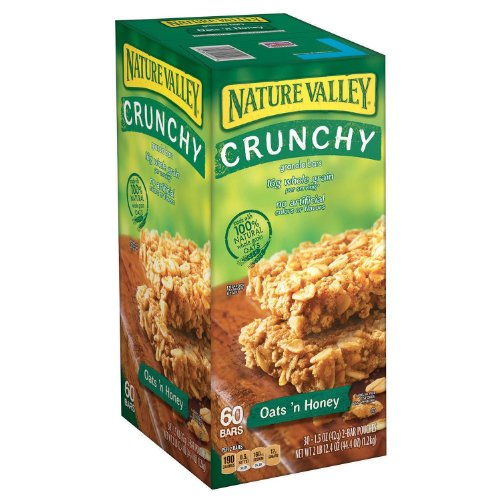 Nature Valley Oats 'N Honey Granola Bars 60 bars (44.4 oz) (Nature Valley Oats And Honey compare prices)