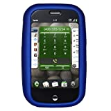 Amzer Rubberized Snap On Crystal Hard Case for Palm Pre (Blue)