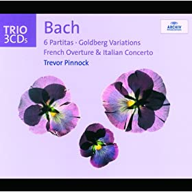 Bach: 6 Partitas; Goldberg Variations; French Overture; Italian Concerto (3 CDs)