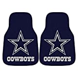 FANMATS NFL Dallas Cowboys Nylon Face Carpet Car Mat