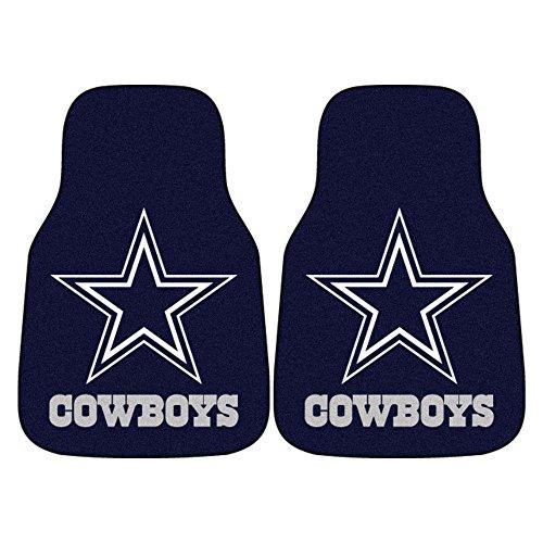 FANMATS NFL Dallas Cowboys Nylon Face Carpet Car Mat (Nfl Truck Accessories compare prices)