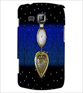 PrintDhaba Antique Watch D-4260 Back Case Cover for SAMSUNG GALAXY S DUOS S7562 (Multi-Coloured)