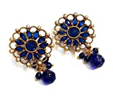 Divinique Jewelry BlUE stylish earrings