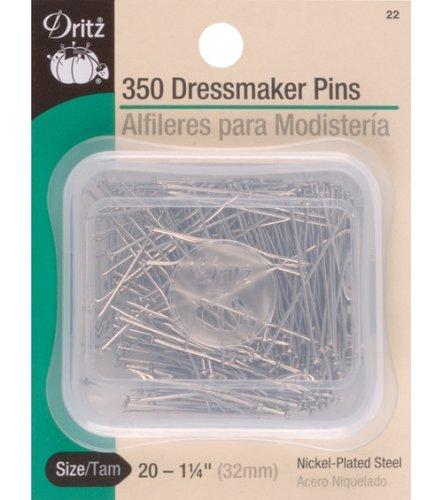 Dritz Dressmaker Pins 1 1/4 350/pkg