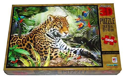 Super 3D Puzzle - Lazy Amazon Afternoon