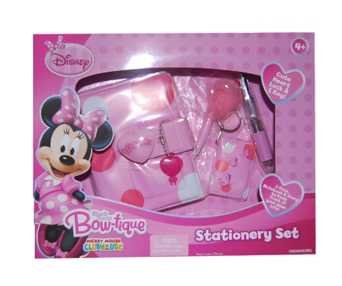 Minnie Mouse Bow-tique Stationery Set - 1