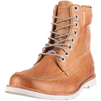 Timberland Earthkeepers 2.0 Rugged FTM 6 Inch Moc Toe Boot Earthkeepers 81514, Herren, Stiefel, Braun (BURNISHED GOLD/IVORY), EU 40 (US 7)