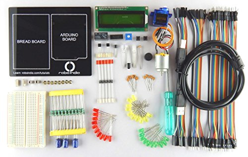 Robo India Robo India Arduino Starter Kit For Beginners Without Arduino Uno