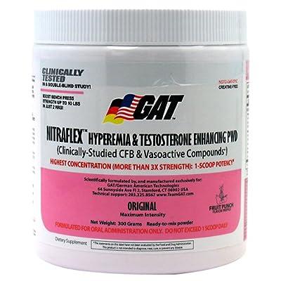 GAT - Nitraflex Nutritional Supplement - 300 Gram - DMAA free