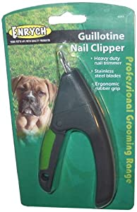 Enrych Guillotine Pet Nail Clipper, Green