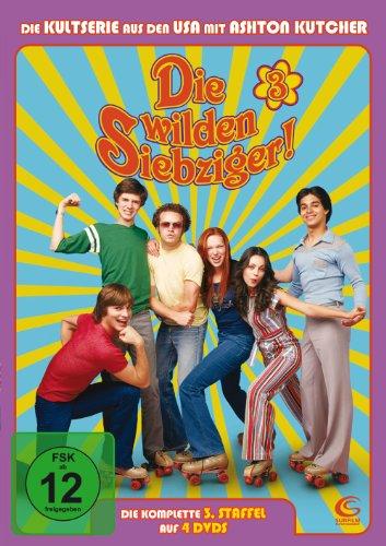 Die wilden Siebziger! - Die komplette 3. Staffel (4 DVDs - Amaray)