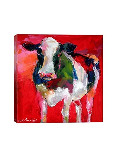 Cow Gallery Wrapped Canvas Print