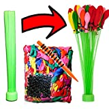 Magic Water Balloons Refill Kit, NALAKUVARA Balloon Kit Refill Your Old Straws In a Jiffy, Gift for Boys & Girls Outdoor Sports Like Picnics, Pool Parties and Summertime Fun, Straws Not Included