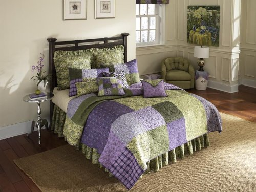 donna-sharp-vineyard-square-quilted-cotton-king-sham-purple-green