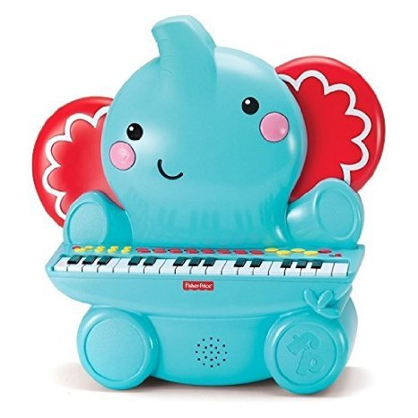 Fisher-Price-Elephant-Piano-Toy
