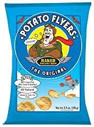 Potato Flyers, The Original, 5.5-Ounce Bags (Pack of 12)