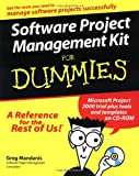 img - for Software Project Management Kit For Dummies  (For Dummies (Computers)) by Mandanis, Greg, Wyatt, Allen (2000) Paperback book / textbook / text book