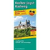 Radwanderkarte Kocher-Jagst-Radweg: mit Ausflugszielen, Einkehr- & Freizeittipps, wetterfest, reissfest, abwischbar, GPS-genau. 1:50000
