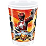 Power Rangers Plastic Cups (Pack Of 10)
