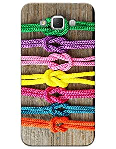 Colorful Ropes case for Samsung Galaxy Galaxy Grand 3 G7200