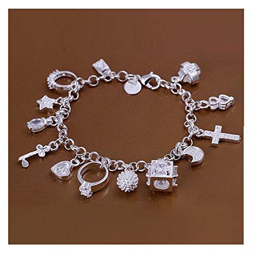 HMILYDYK Beautiful Lady Jewelry Classic Crystal
