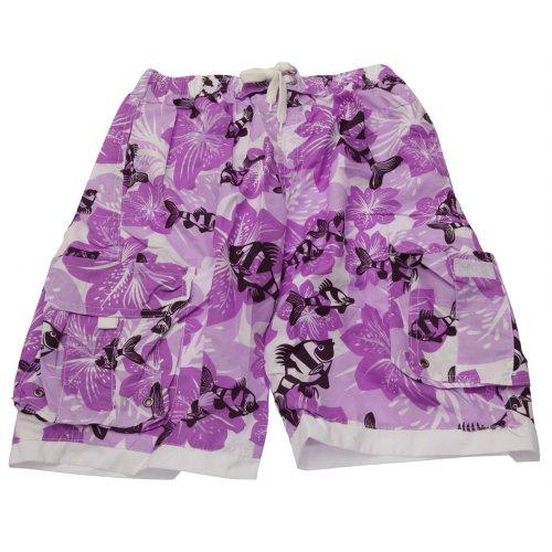Brave Soul Mens Floral Pattern Swim Wear Swimming Shorts