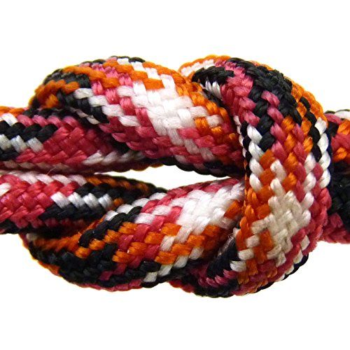 """Paracord - Guaranteed Milspec C-5040H Compliant, 8-Strand, Type Iii, Military Survival 550 Parachute Cord. 110 Ft. Hank Of Shock 'N Awe Camo. Made In The U.S. From 100% Nylon. Includes Free Ebook: """"We Love Milspec Paracord And So Will You!"""" And Your Own C"""