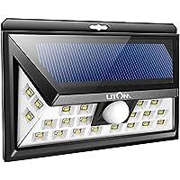 Litom Super Bright 24 LED Outdoor Motion Sensor Solar Lights